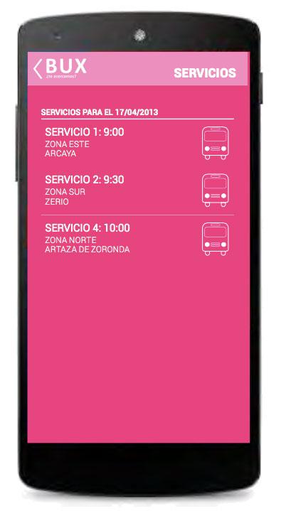 app transporte a la demanda