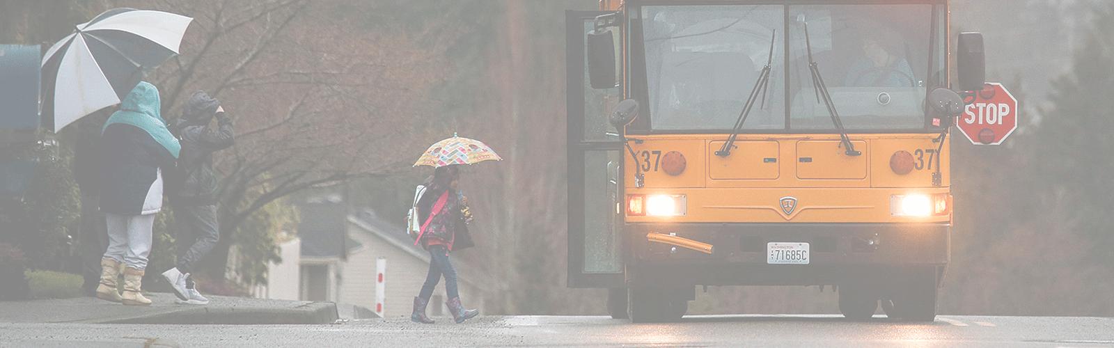 Seguridad en el transporte escolar